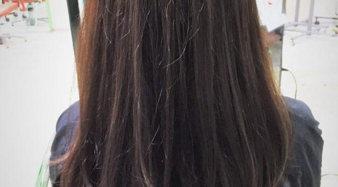 柔らかい髪色にしたい