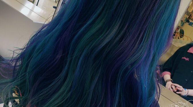 緑と青で鮮やかに!!!